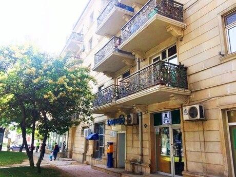 3 otaqlı ofis - Şah İsmayıl Xətai m. - 90 m²