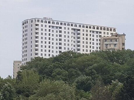 1-комн. новостройка - м. Ахмедлы - 74 м²