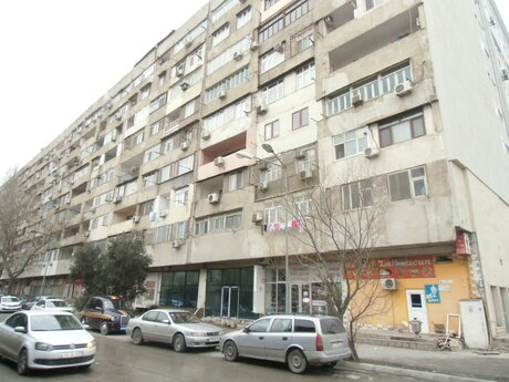 4 otaqlı köhnə tikili - Yasamal r. - 111 m²
