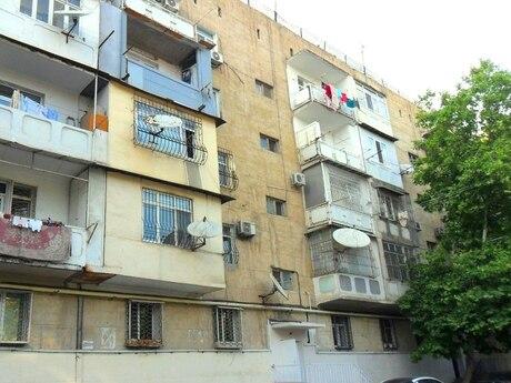 3 otaqlı köhnə tikili - Biləcəri q. - 85 m²