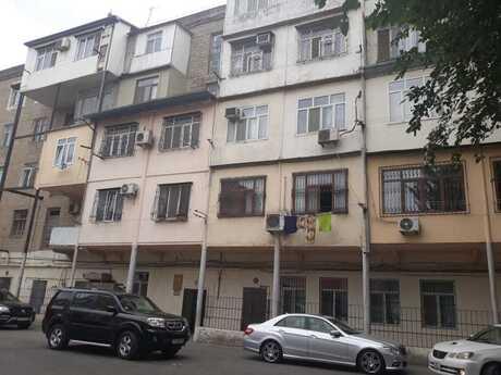 4 otaqlı köhnə tikili - Nəriman Nərimanov m. - 85 m²