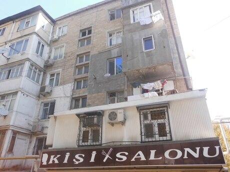 1 otaqlı köhnə tikili - Dövlət Statistika Komitəsi  - 35 m²