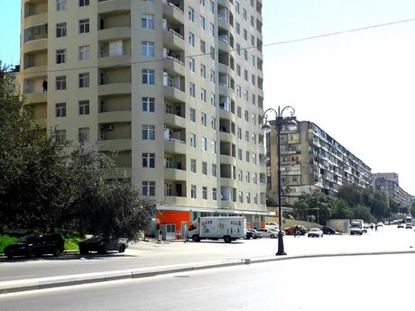 2-комн. новостройка - пос. Ахмедлы - 82 м²