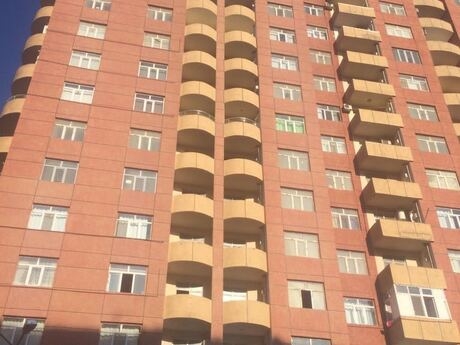 1-комн. новостройка - м. Иншаатчылар - 48 м²