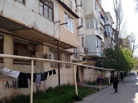 1 otaqlı köhnə tikili - Memar Əcəmi m. - 31 m²