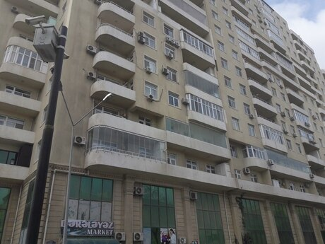 3 otaqlı yeni tikili - Nərimanov r. - 126 m²