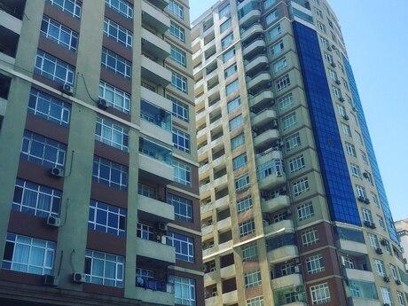 3 otaqlı yeni tikili - Şah İsmayıl Xətai m. - 126 m²