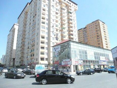 3 otaqlı yeni tikili - Həzi Aslanov m. - 88 m²