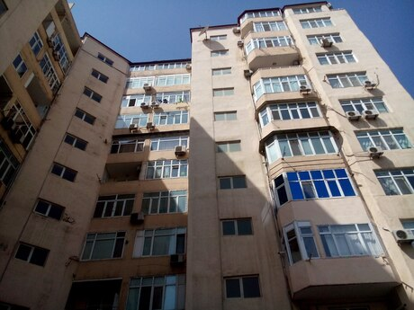2 otaqlı yeni tikili - Şah İsmayıl Xətai m. - 82 m²