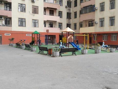 3 otaqlı yeni tikili - İnşaatçılar m. - 121 m²