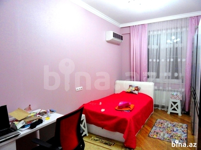 4 otaqlı yeni tikili - Şah İsmayıl Xətai m. - 190 m² (16)