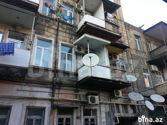 2 otaqlı köhnə tikili - Nizami m. - 56 m² (1)