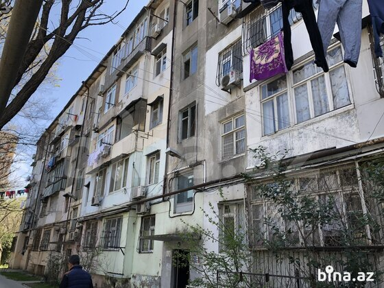 2 otaqlı köhnə tikili - Memar Əcəmi m. - 43 m² (1)