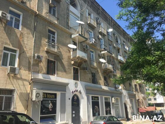 3 otaqlı köhnə tikili - Nəsimi r. - 87 m² (1)