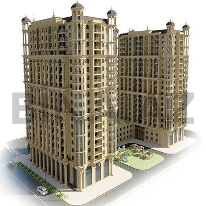3 otaqlı yeni tikili - Xətai r. - 132 m² (1)