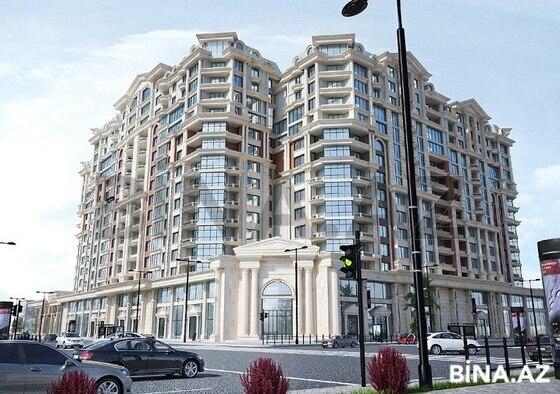 3 otaqlı yeni tikili - Nəriman Nərimanov m. - 124 m² (1)