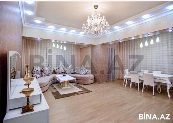 4 otaqlı yeni tikili - Şah İsmayıl Xətai m. - 181 m² (1)