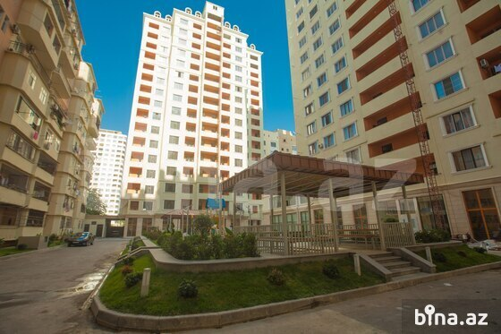 3-комн. новостройка - м. Элмляр Академиясы - 110 м² (1)