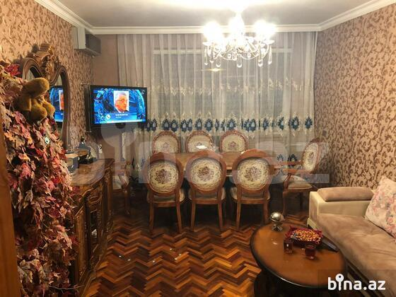 3 otaqlı köhnə tikili - Qara Qarayev m. - 68 m² (1)