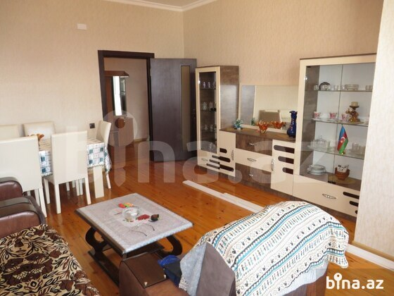 4 otaqlı yeni tikili - Şah İsmayıl Xətai m. - 135 m² (1)