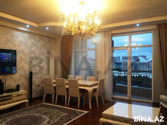 3 otaqlı yeni tikili - Şah İsmayıl Xətai m. - 145 m² (1)