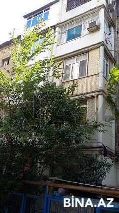 3 otaqlı köhnə tikili - Qara Qarayev m. - 90 m² (1)