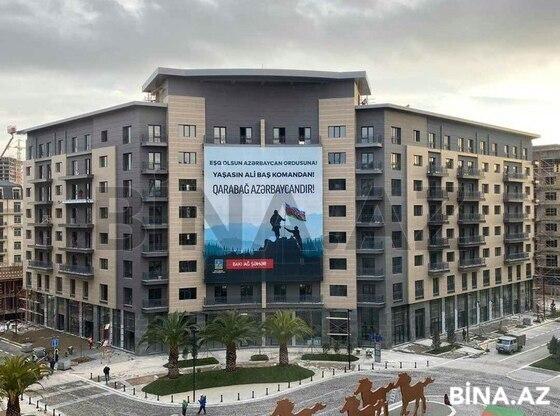 3 otaqlı yeni tikili - Xətai r. - 132.6 m² (1)