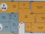 3 otaqlı yeni tikili - Nəsimi r. - 157 m² (13)