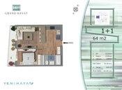 1 otaqlı yeni tikili - Yasamal q. - 66 m² (4)