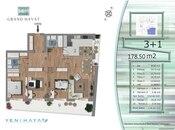4 otaqlı yeni tikili - Yasamal q. - 176 m² (2)