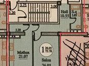 1 otaqlı yeni tikili - 28 May m. - 73 m² (3)