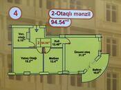 2 otaqlı yeni tikili - Xırdalan - 94.5 m² (2)