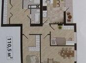 3 otaqlı yeni tikili - Badamdar q. - 110.5 m² (9)