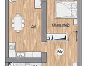 1 otaqlı yeni tikili - Həzi Aslanov q. - 52.4 m² (2)