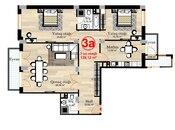 3 otaqlı yeni tikili - Xətai r. - 139.1 m² (2)
