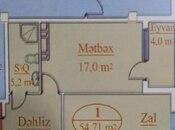1 otaqlı yeni tikili - Azadlıq Prospekti m. - 54.7 m² (2)