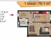 1 otaqlı yeni tikili - Nəsimi r. - 76.1 m² (2)