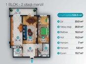 2 otaqlı yeni tikili - Nəsimi r. - 106.5 m² (4)