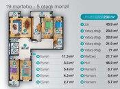 5 otaqlı yeni tikili - Nəsimi r. - 250 m² (5)