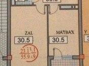 1 otaqlı yeni tikili - Gənclik m. - 56 m² (2)
