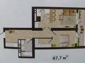 1 otaqlı yeni tikili - Badamdar q. - 67.7 m² (9)