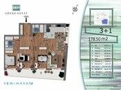 4 otaqlı yeni tikili - Nəsimi r. - 176 m² (3)