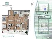 4 otaqlı yeni tikili - Yasamal q. - 179 m² (2)