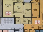 2-комн. новостройка - м. Ахмедлы - 102 м² (2)