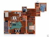2 otaqlı yeni tikili - Yeni Günəşli q. - 92.9 m² (3)