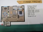 3 otaqlı yeni tikili - Nərimanov r. - 118.2 m² (5)